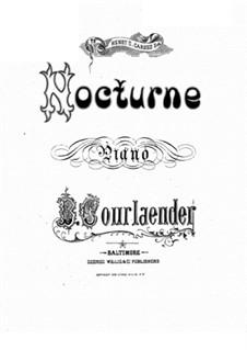 Nocturne: Nocturne by Bernard Courlaender