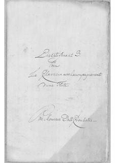 Divertissement for Flute and Harpsichord No.3: Divertissement for Flute and Harpsichord No.3 by Simoni dall Croubelis