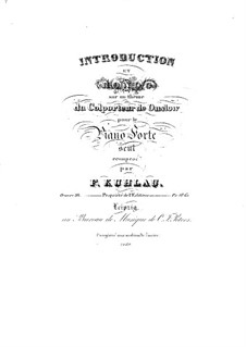 Introduction and Rondo, Op.98: Introduction and Rondo by Friedrich Kuhlau