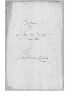 Divertissement for Flute and Harpsichord No.5: Divertissement for Flute and Harpsichord No.5 by Simoni dall Croubelis