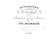 Elverhøj (Elves' Hill). Overture, Op.100: For piano four hands by Friedrich Kuhlau
