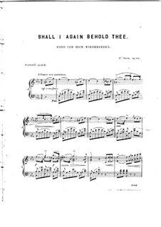 Shall I Again Behold Thee, Op.104: Shall I Again Behold Thee by Charles Voss