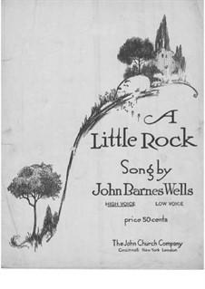 A Little Rock: A Little Rock by Jack Wells
