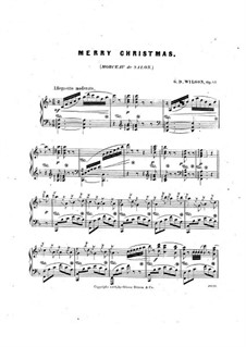 Merry Christmas, Op.81: Merry Christmas by Grenville Dean Wilson