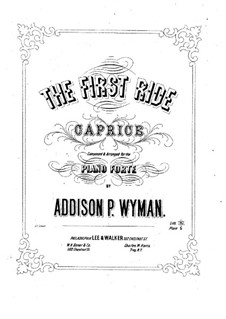 The First Ride: The First Ride by Addison Wyman