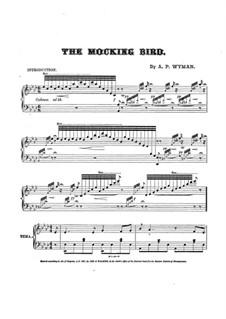 The Mocking Bird: The Mocking Bird by Addison Wyman