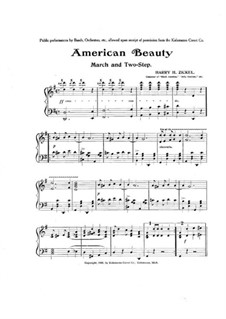 American Beauty: American Beauty by Harry H. Zickel
