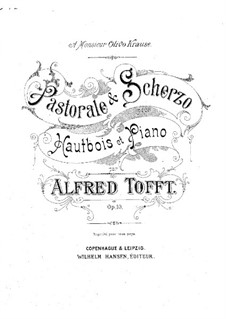 Pastorale and Scherzo, Op.10: Pastorale and Scherzo by Alfred Tofft