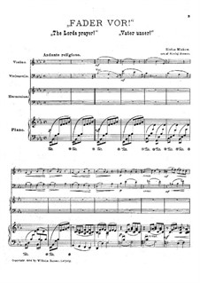 The Lords Prayer: Full score, parts by Sextus Miskow