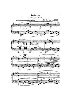 Nocturne: Nocturne by Herman Severin Lovenskjold
