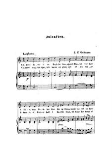 Juleaften: Juleaften by Johan Christian Gebauer