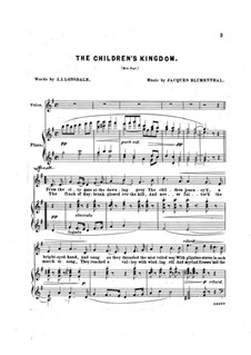 The Children's Kingdom: The Children's Kingdom by Jacques Blumenthal
