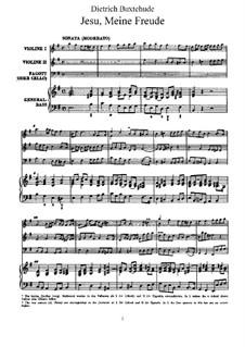 Jesu, My Heart's Treasure. Cantata, BuxWV 60: Jesu, My Heart's Treasure. Cantata by Dietrich Buxtehude