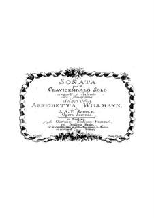 Sonata per il Clavicembalo Solo, Op.2: Sonata per il Clavicembalo Solo by Johann Abraham Schulz