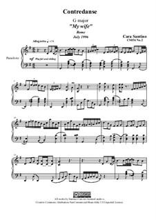 Contredance, CS036 No.2: Contredance by Santino Cara