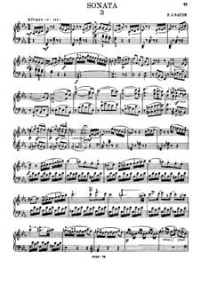 Sonata for Piano No.59 in E Flat Major, Hob.XVI/49: With fingering by Joseph Haydn