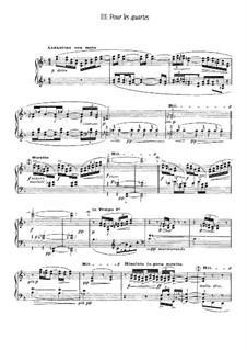 Etudes, L.136: No.3 Pour les quartes by Claude Debussy