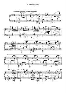 Etudes, L.136: No.5 Pour les octaves by Claude Debussy