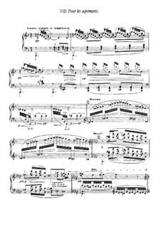 Etudes, L.136: No.8 Pour les agréments by Claude Debussy