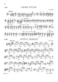 Guitar Album, Op.27: No.11-12 by Charles James Dorn