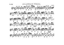 Guitar Album, Op.27: No.24 Allandale Polka by Charles James Dorn