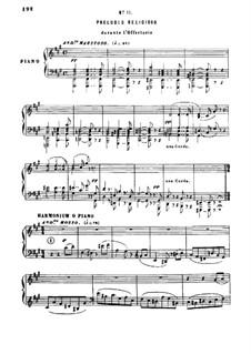Petite Messe Solennelle: Movement IV. Preludio religioso by Gioacchino Rossini
