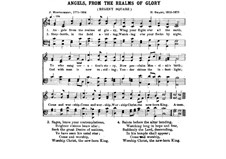 Angels, from the Realms of Glory: For piano by Henry Smart