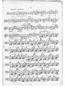 Twelve Caprices for Cello, Op.25: Caprice No.2 by Carlo Alfredo Piatti