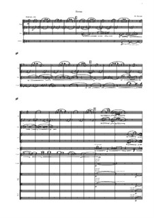 Poem for symphonic orchestra: Poem for symphonic orchestra by Mikhail Puchkov