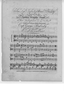 Salem Light Infantry's, for Piano: Salem Light Infantry's, for Piano by J. A. Keller