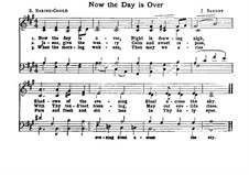 Now the Day is Over: Now the Day is Over by Joseph Barnby