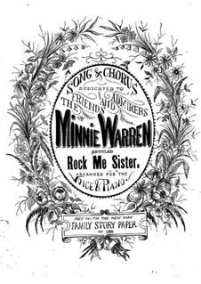 Rock Me, Sister: Rock Me, Sister by Horatio C. King