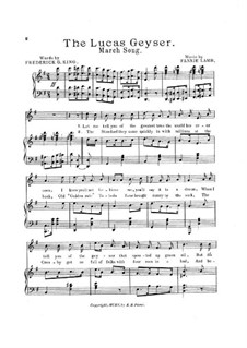 The Lucas Geyser: The Lucas Geyser by Fannie Lamb