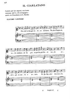 The Charlatan: The Charlatan by Giacomo Carissimi