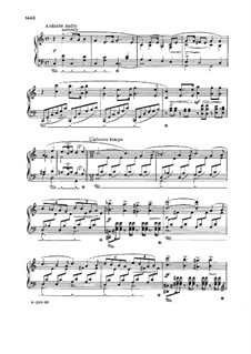 Sonata for Piano in E Minor, Op.7: Movement II by Edvard Grieg