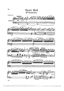 L'Allegro, il Penseroso, ed il Moderato, HWV 55: Sweet Bird, That Shun'st by Georg Friedrich Händel