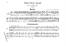 Complete set: For piano four hands by Robert Schumann