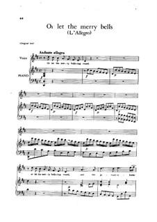 L'Allegro, il Penseroso, ed il Moderato, HWV 55: Or let the merry bells by Georg Friedrich Händel