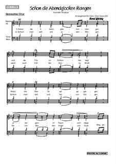 Das Nachtlager in Granada (The Night Camp in Granada): No.11 Schon die Abendglocken klangen (F Major), Op.255 by Conradin Kreutzer