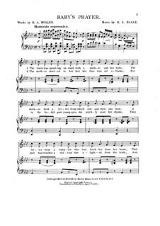 Baby's Prayer: Baby's Prayer by R. L. Halle