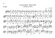 Guitar Album, Op.27: No.16 Garden Waltz by Charles James Dorn