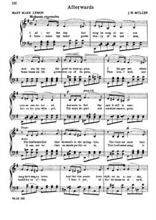 Afterwards: In G Major by John W. Mullen