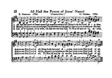 All Hail the Power of Jesus' Name: Vocal score by Oliver Holden