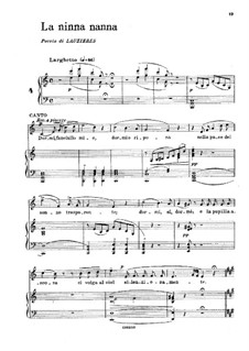 La ninna-nanna: A minor by Gaetano Donizetti