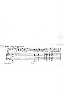 No.39 Air 'Erbarme Dich, mein Gott': Piano-vocal score by Johann Sebastian Bach