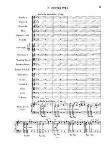 Concert Fantasia for Piano and Orchestra, TH 61 Op.56: Movement II by Pyotr Tchaikovsky