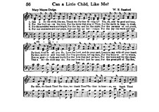 Can a Little Child, Like Me: Can a Little Child, Like Me by William K. Bassford
