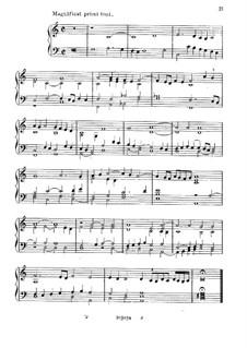 Magnificat Primi Toni: Magnificat Primi Toni by Girolamo Cavazzoni