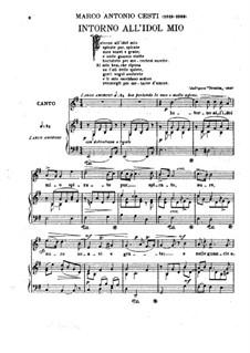 Orontea: Intorno all' idol mio (E Minor) by Pietro Antonio Cesti