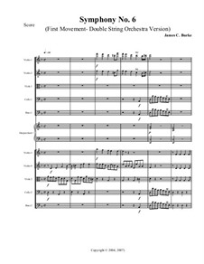 Symphony No.6: First movement by James Burke